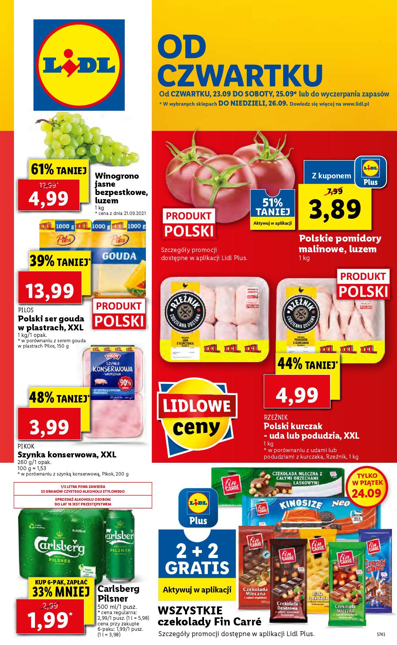 Gazetka Lidl: Gazetka Lidl - od czwartku - 22.09.2021