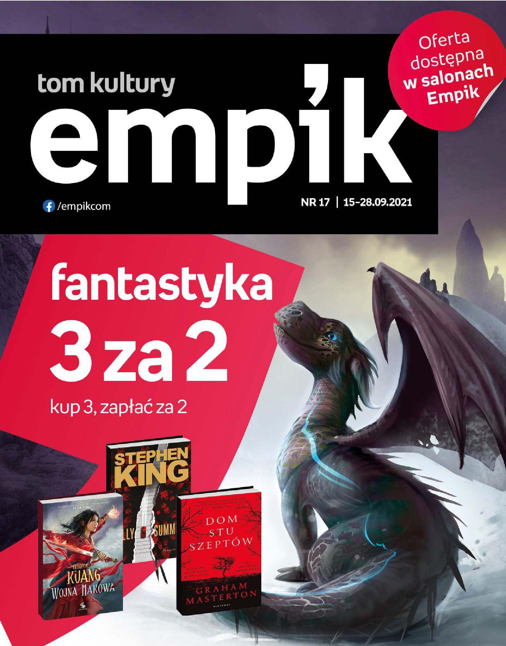 Empik:  Gazetka Empik - Nowości i promocje 14.09.2021
