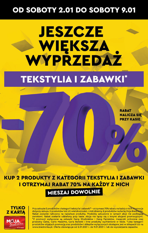 Gazetka Biedronka: Okazje tygodnia od 04.01 2021-01-04 page-32