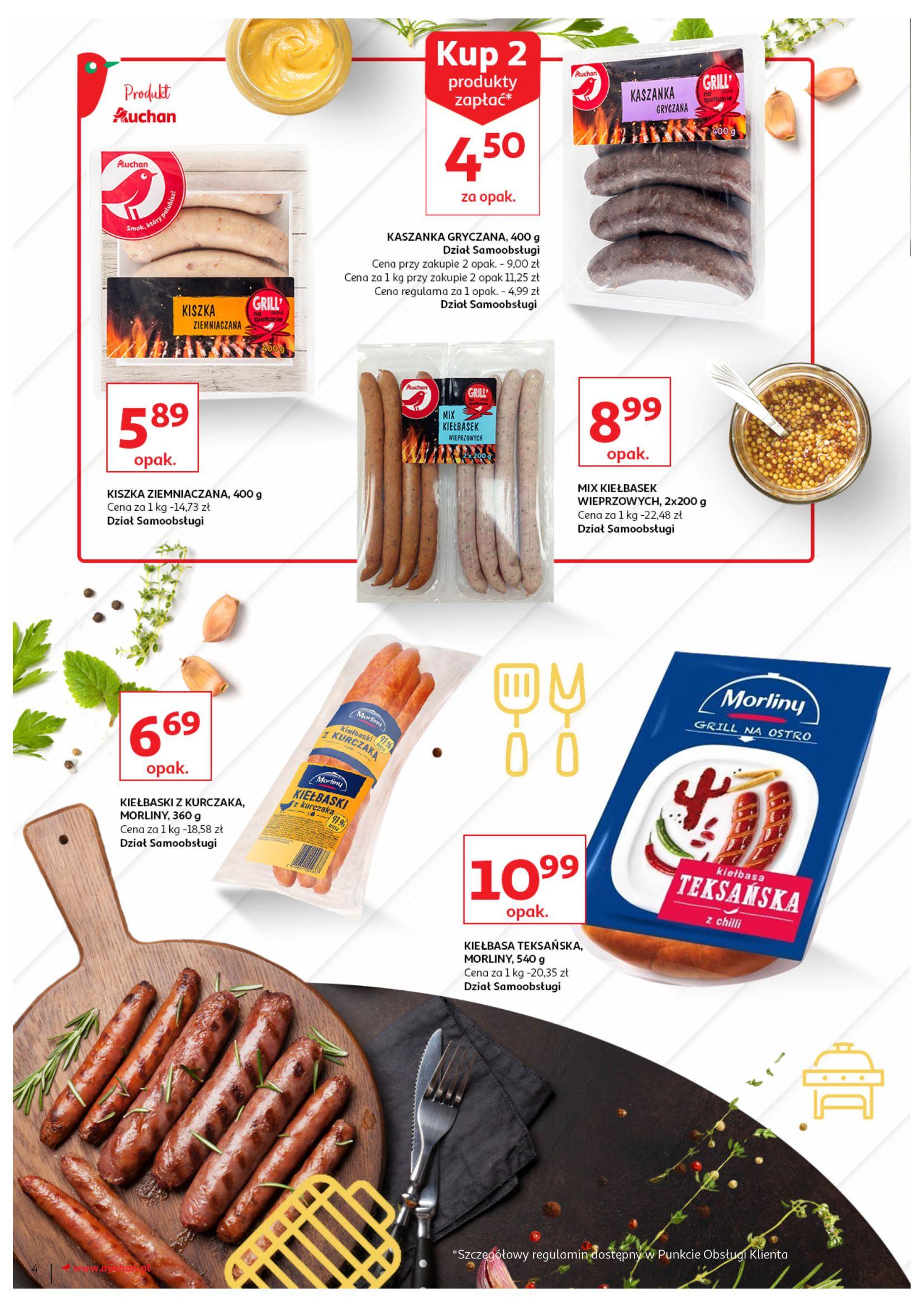 Gazetka Auchan - Prosto na grilla Hipermarkety-12.06.2019-23.06.2019-page-