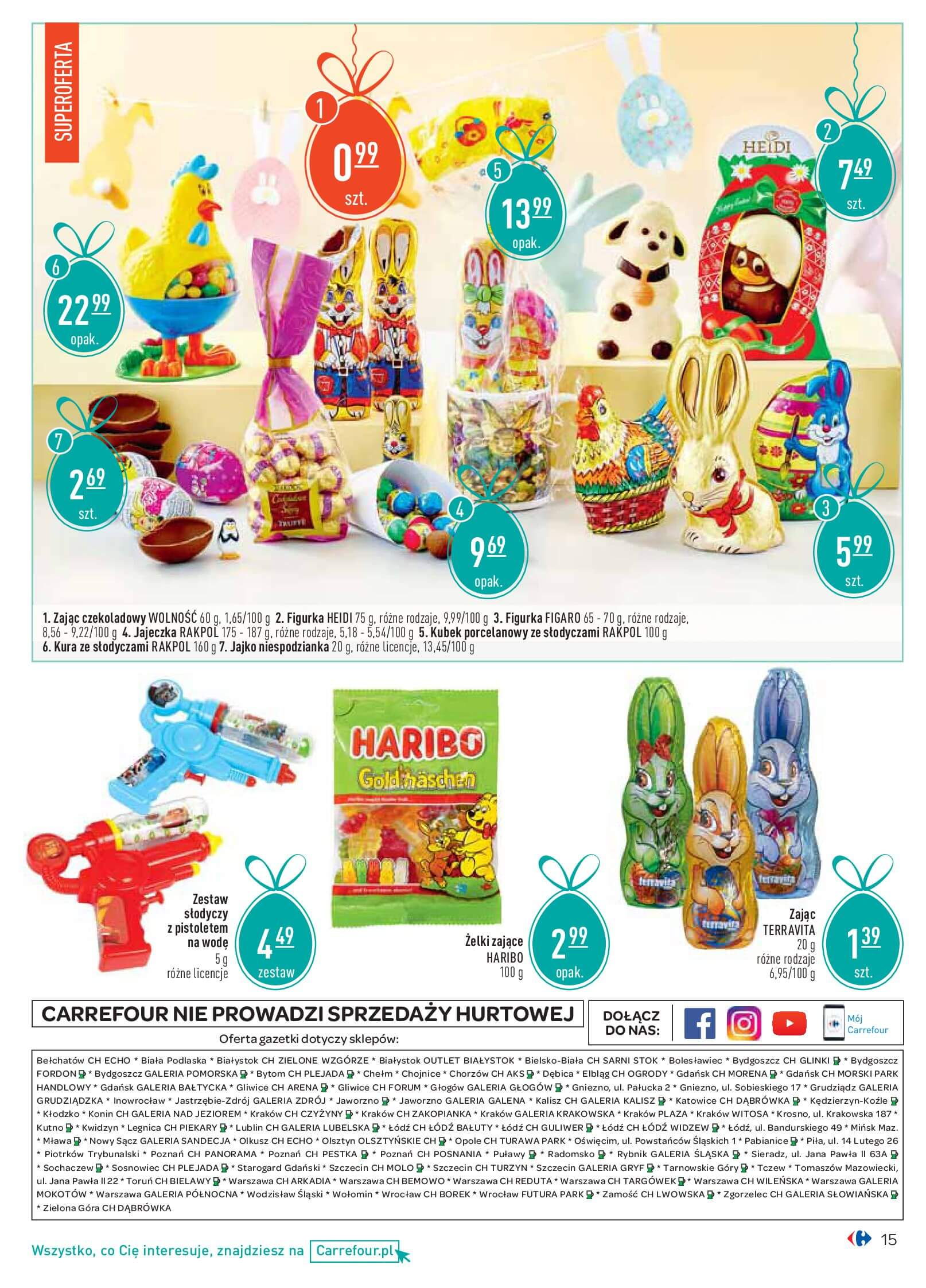 Gazetka Carrefour - Wielkanocne Niespodzianki-12.03.2018-31.03.2018-page-
