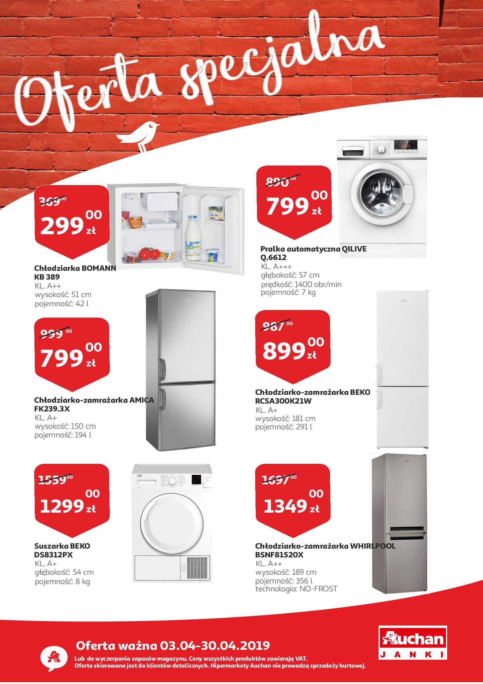 Gazetka Auchan - Oferta specjalna-02.04.2019-30.04.2019-page-