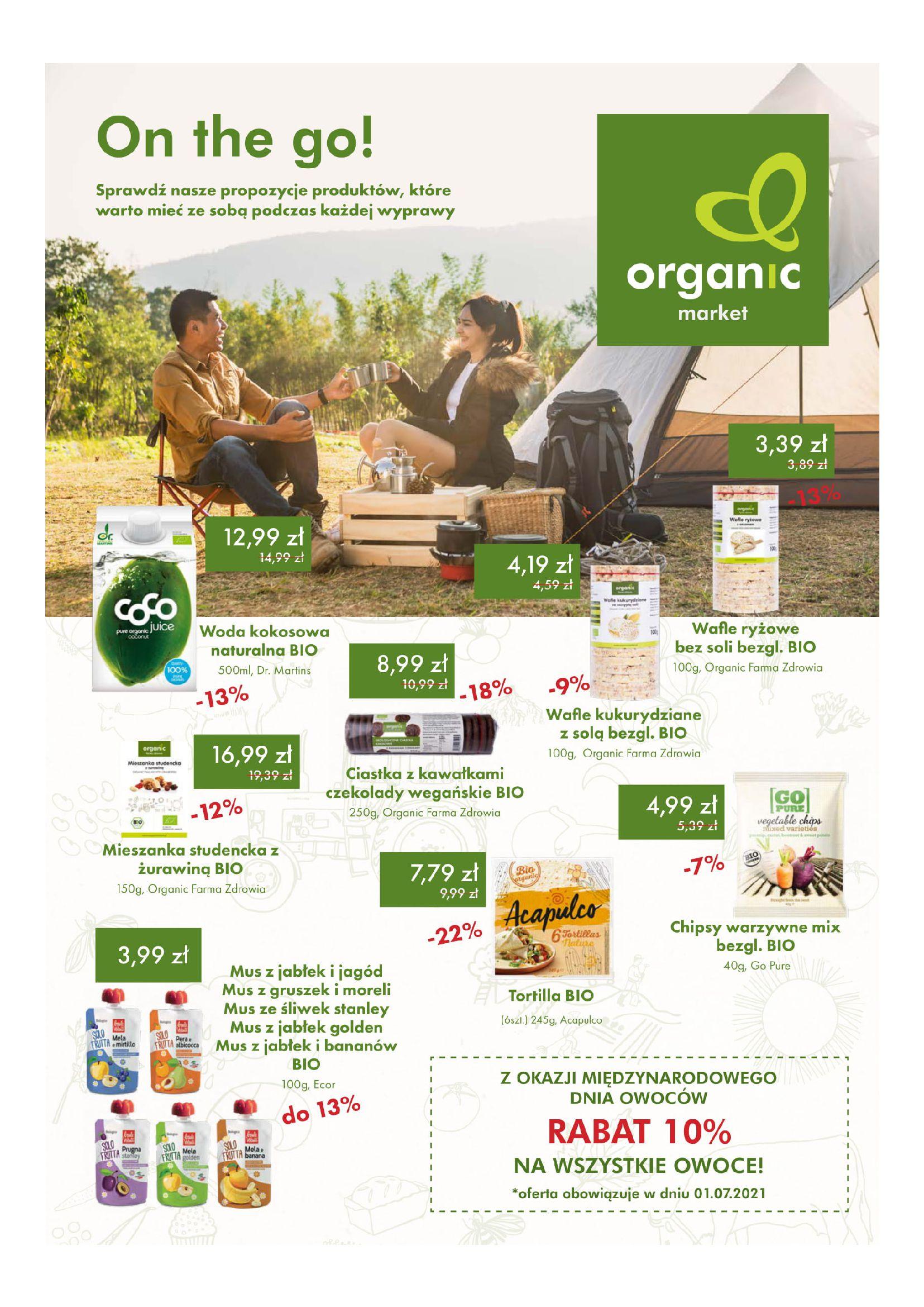 Gazetka Organic Farma Zdrowia: Gazetka Organic Farma Zdrowia 2021-07-01 page-1