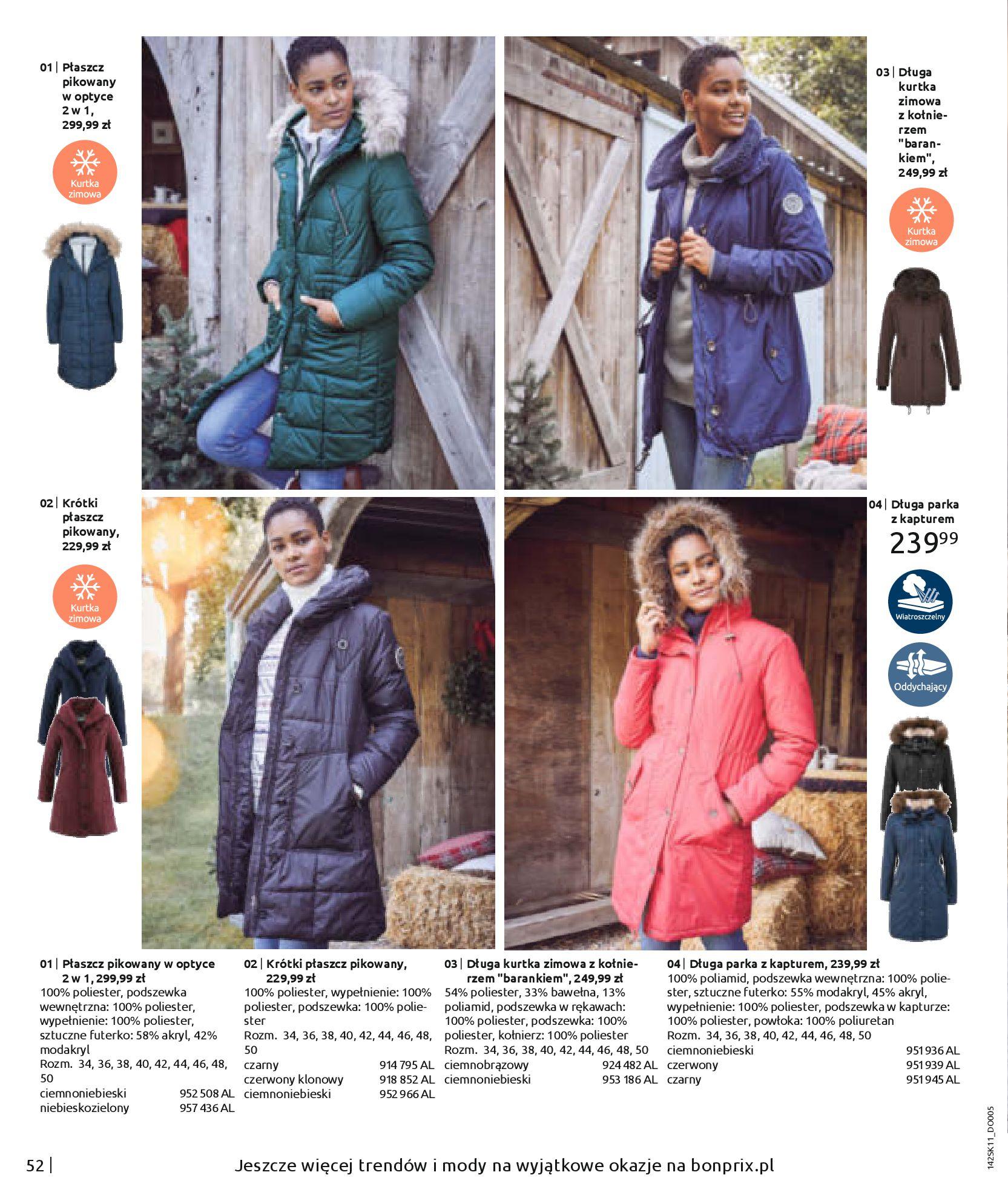 Gazetka Bonprix: Hity mody 2020-11-18 page-54