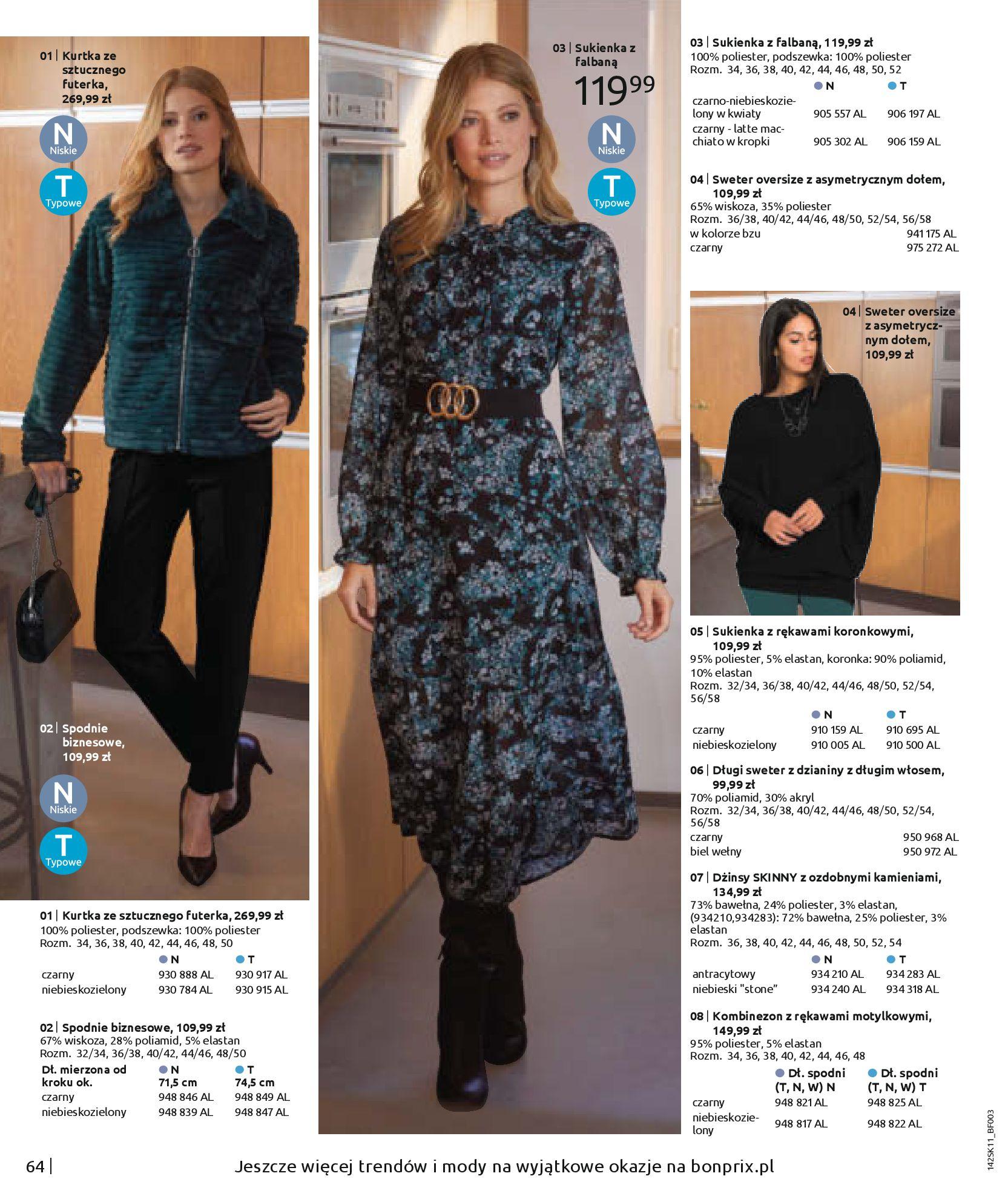 Gazetka Bonprix: Hity mody 2020-11-18 page-66