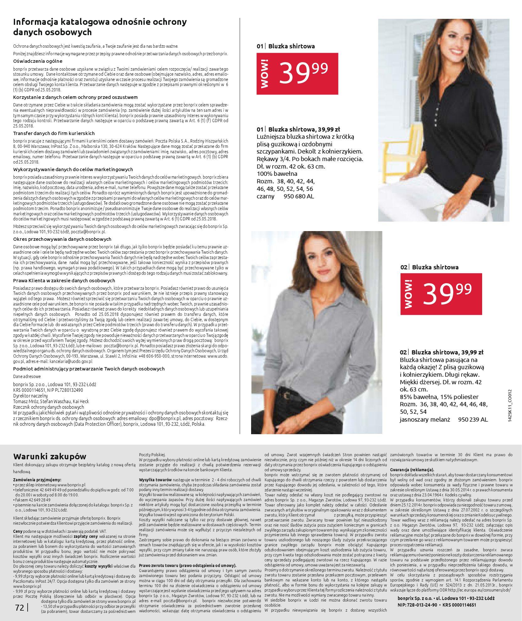 Gazetka Bonprix: Hity mody 2020-11-18 page-74