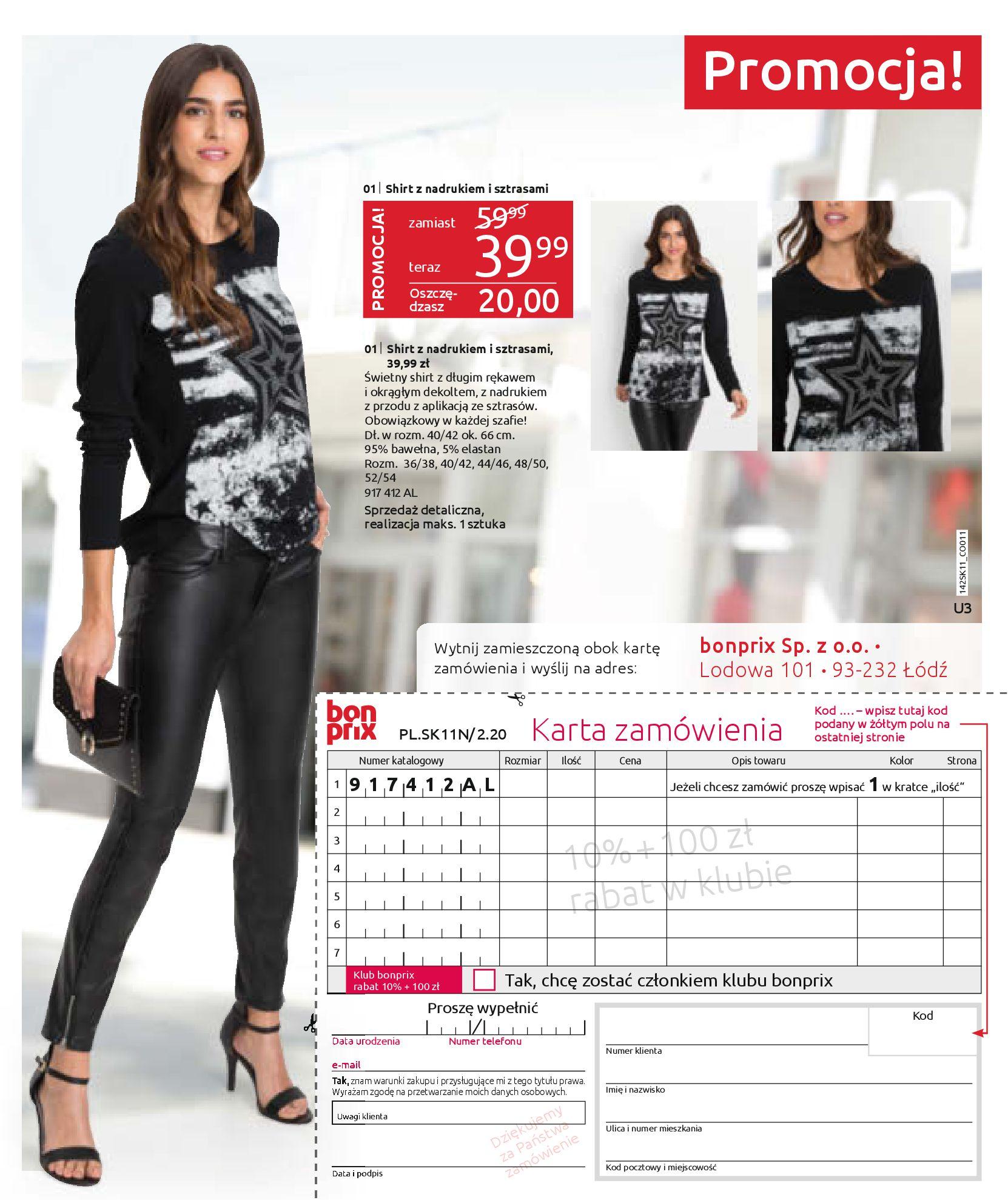 Gazetka Bonprix: Hity mody 2020-11-18 page-75