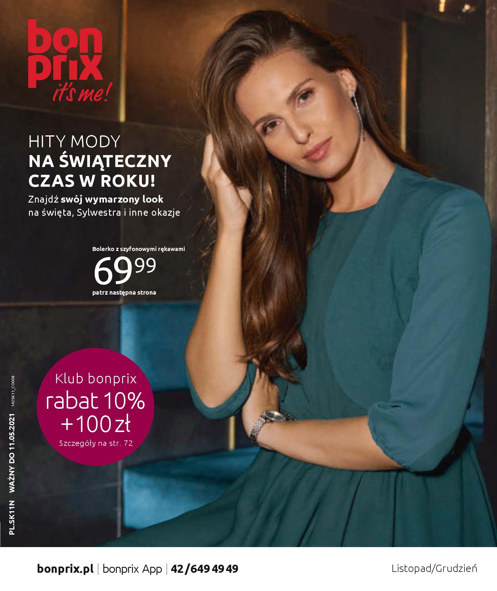 Gazetka Bonprix: Hity mody 2020-11-18 page-1