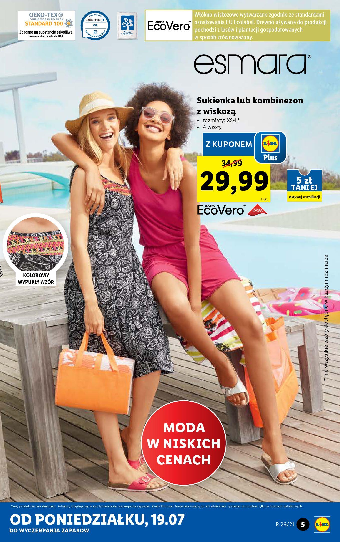 Gazetka Lidl: Gazetka Lidl - Katalog od 19.07 2021-07-19 page-5