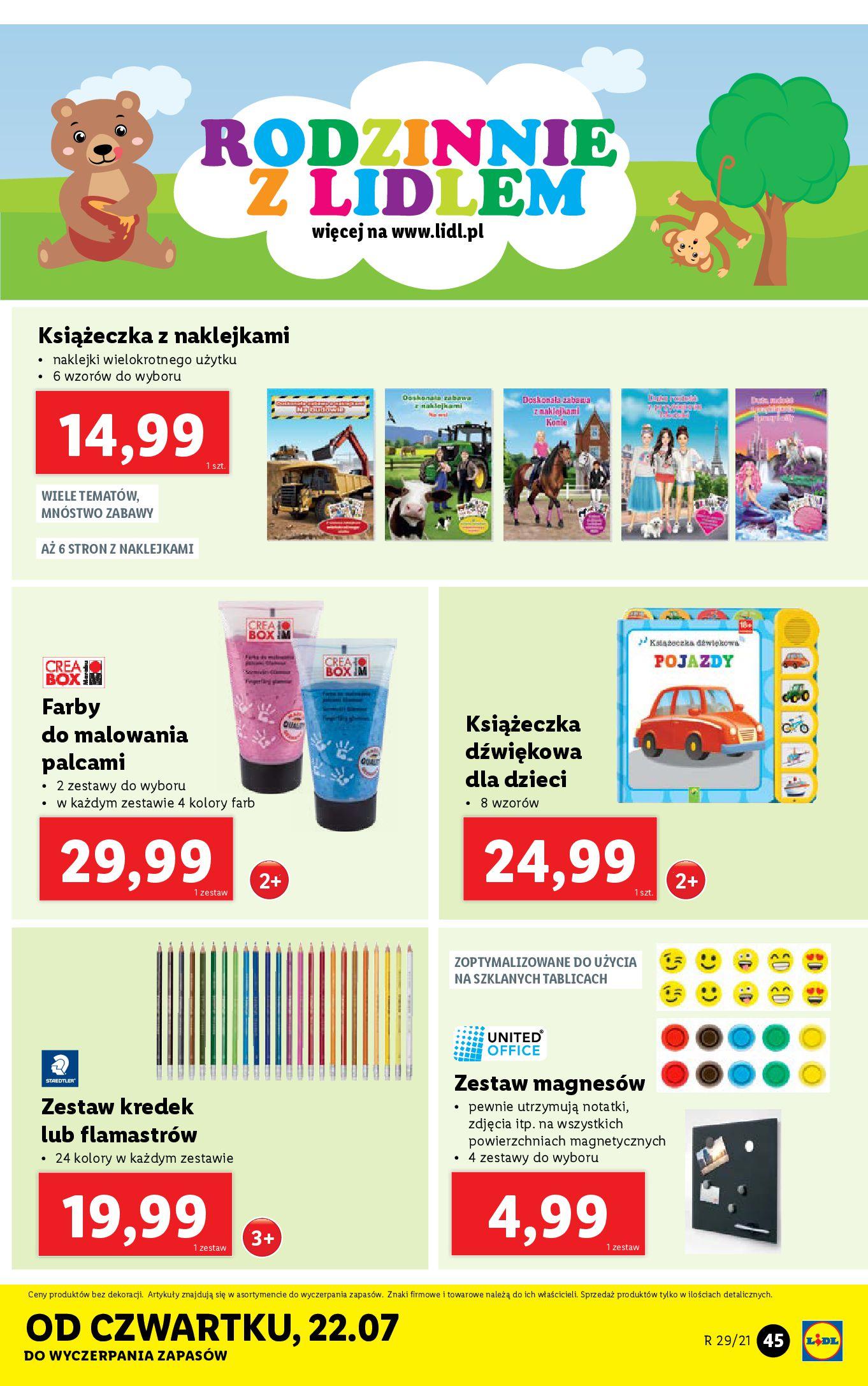 Gazetka Lidl: Gazetka Lidl - Katalog od 19.07 2021-07-19 page-45