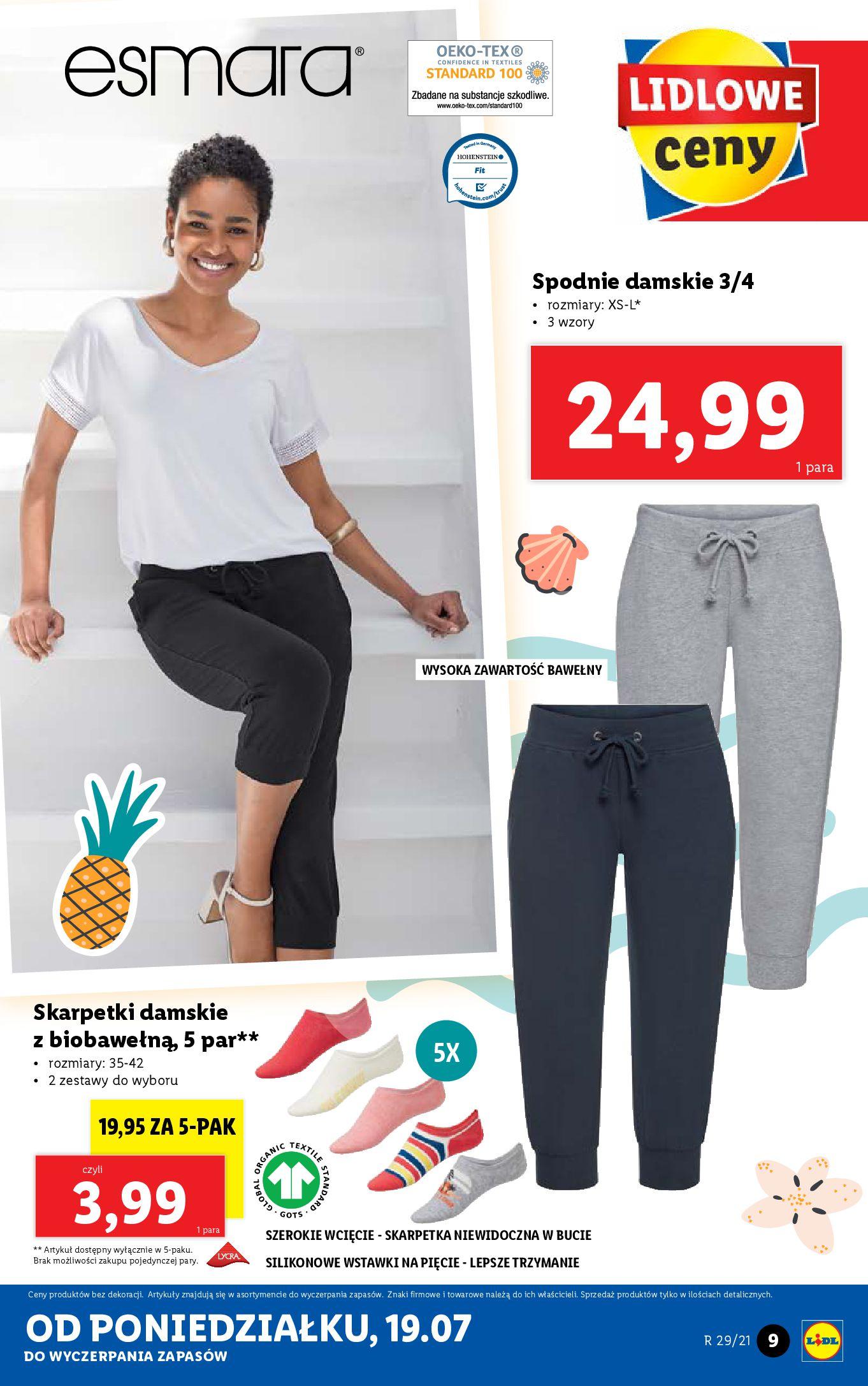 Gazetka Lidl: Gazetka Lidl - Katalog od 19.07 2021-07-19 page-9