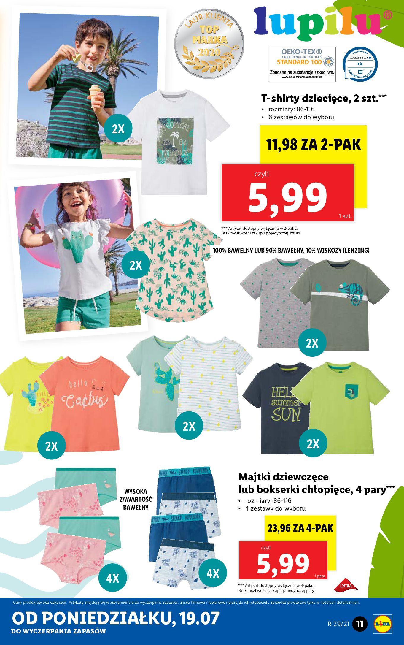 Gazetka Lidl: Gazetka Lidl - Katalog od 19.07 2021-07-19 page-11