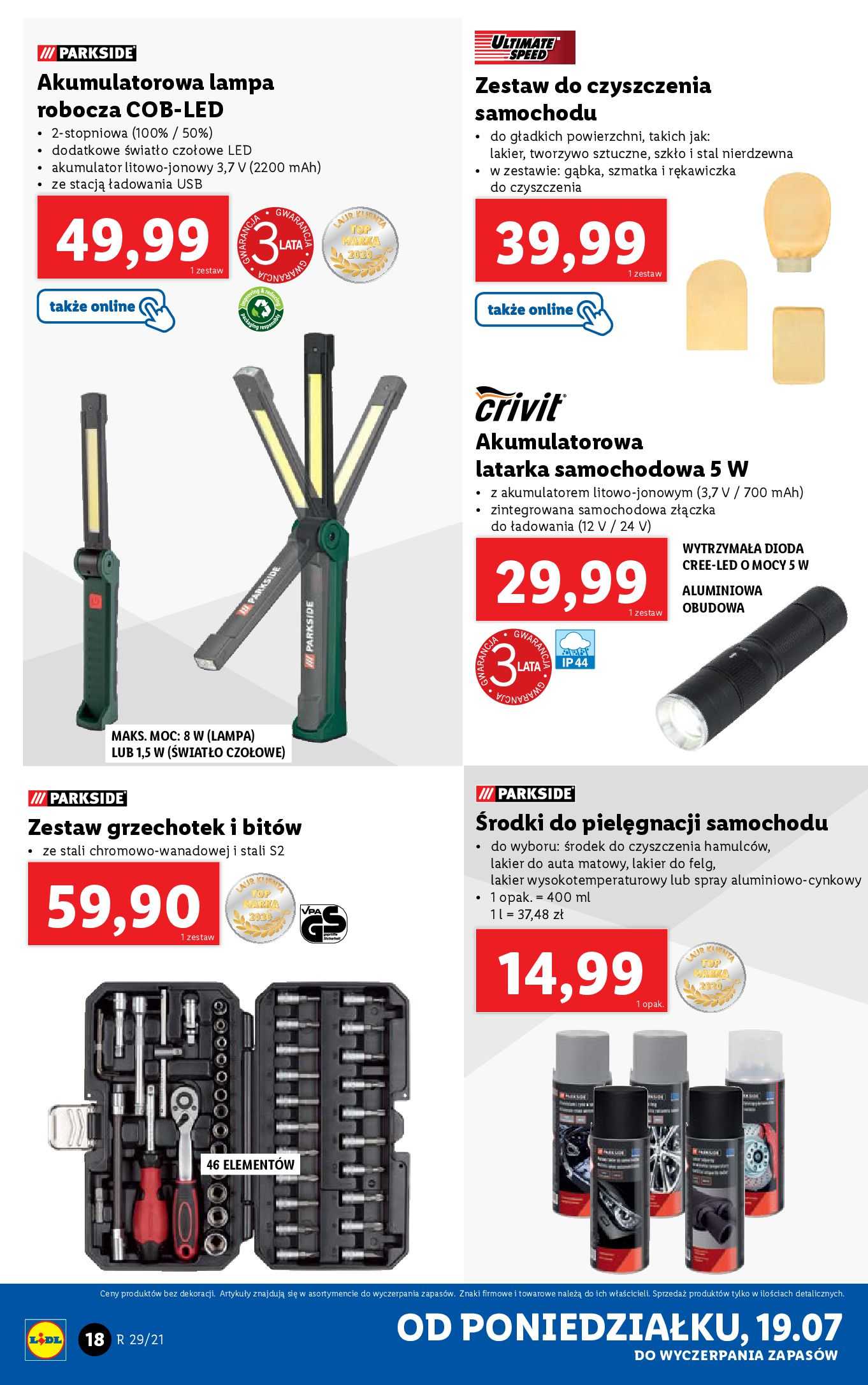 Gazetka Lidl: Gazetka Lidl - Katalog od 19.07 2021-07-19 page-18