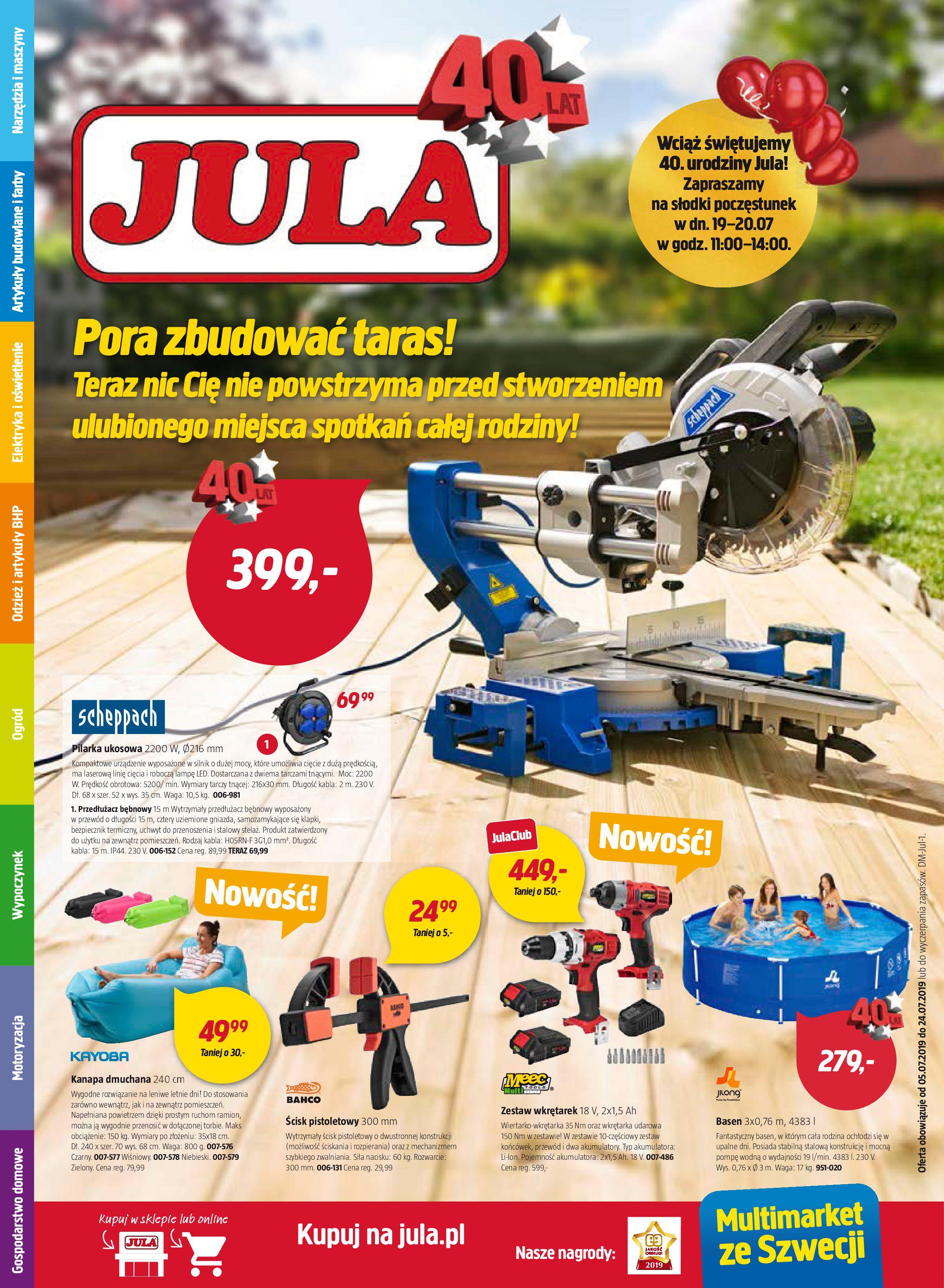 Gazetka Jula - Oferta na art. budowlane-04.07.2019-24.07.2019-page-