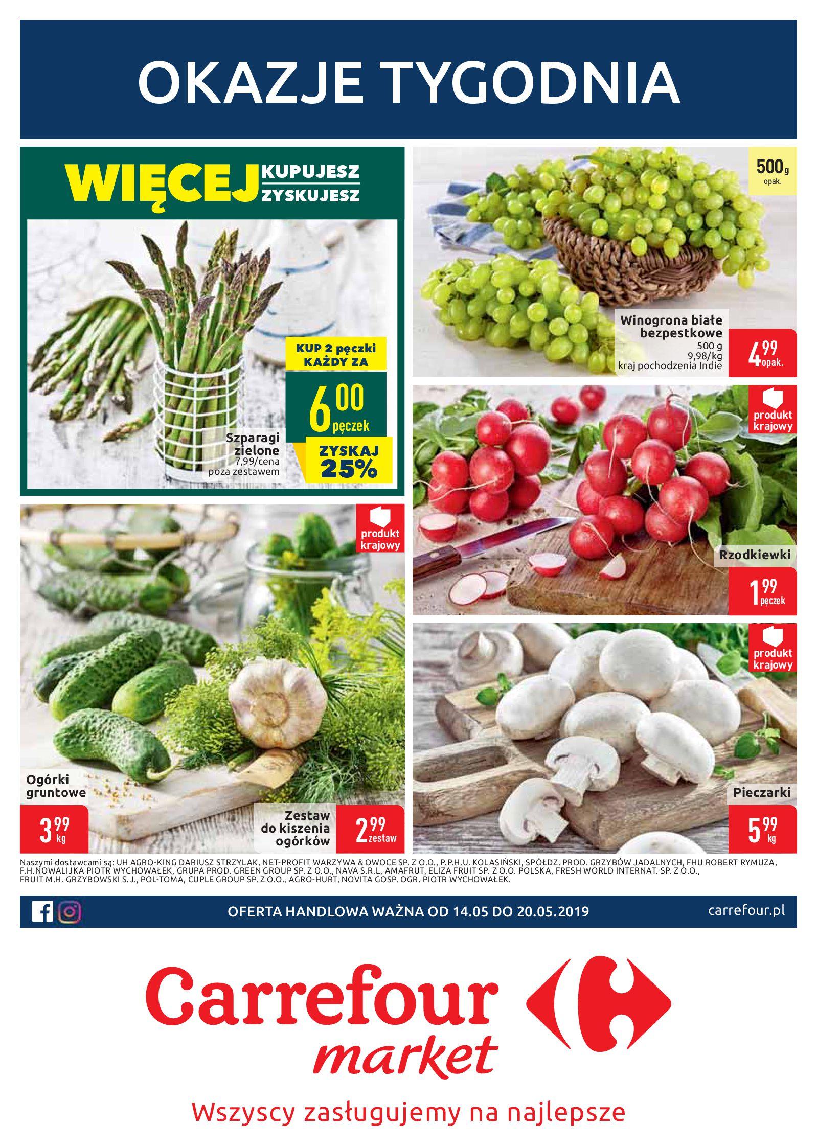 Gazetka Carrefour Market - Okazje tygodnia-13.05.2019-20.05.2019-page-