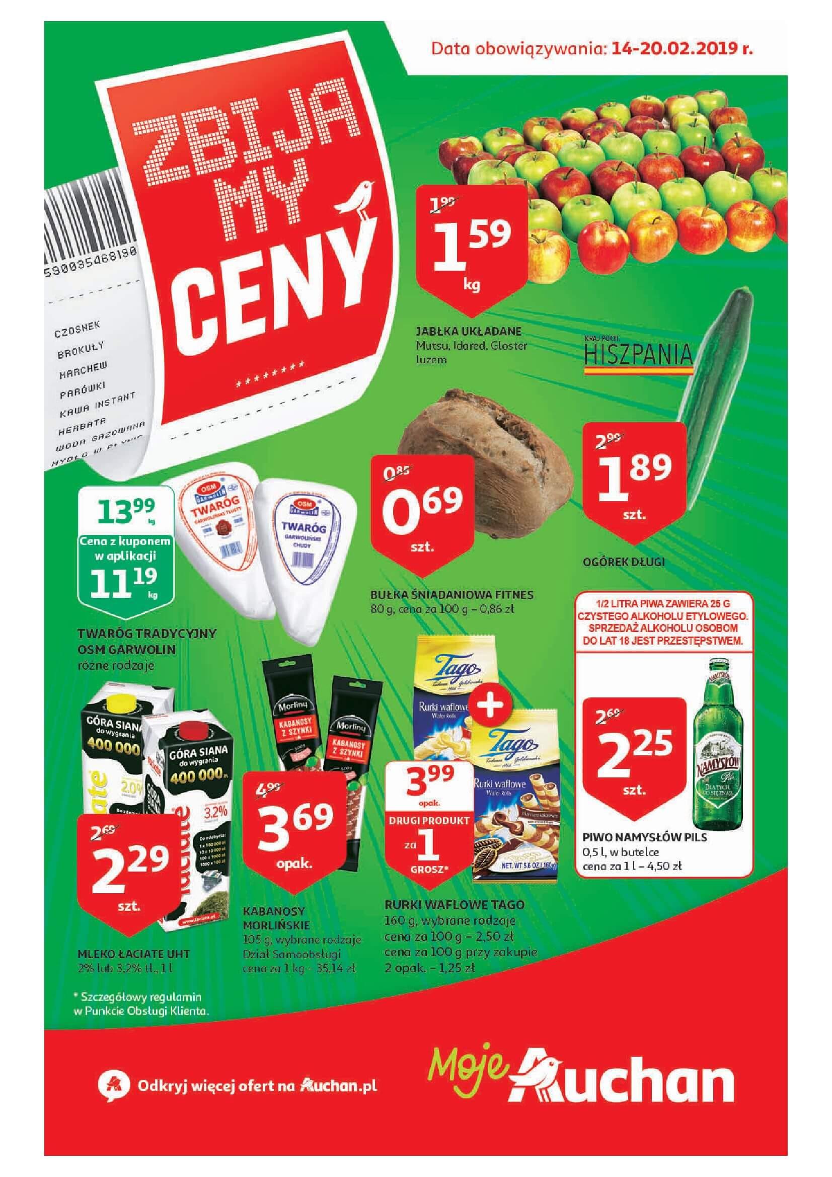 Gazetka Auchan - Zbijamy ceny cz. III - Moje Auchan-13.02.2019-20.02.2019-page-