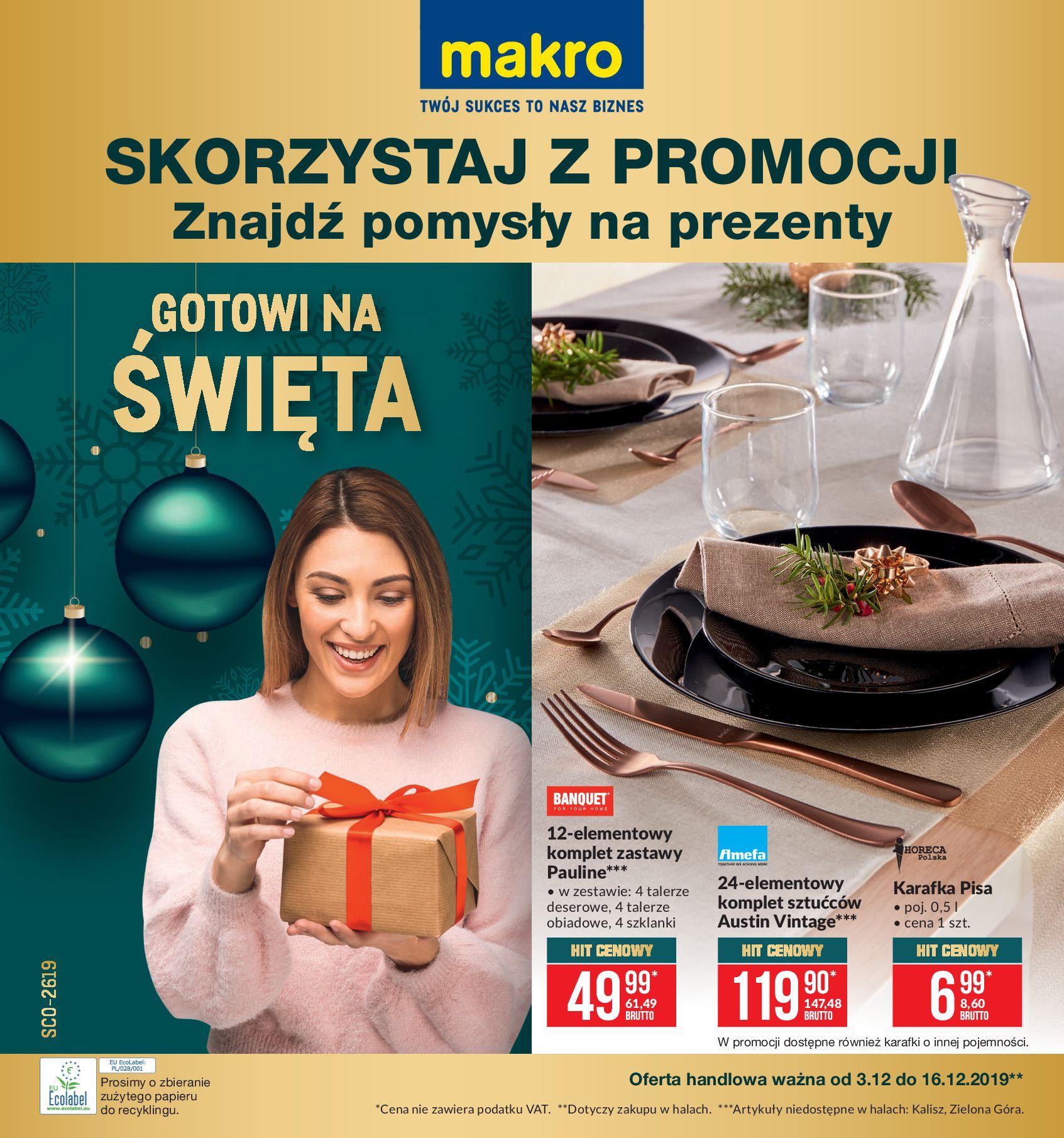 Gazetka Makro - Artykuły przemysłowe-02.12.2019-16.12.2019-page-1