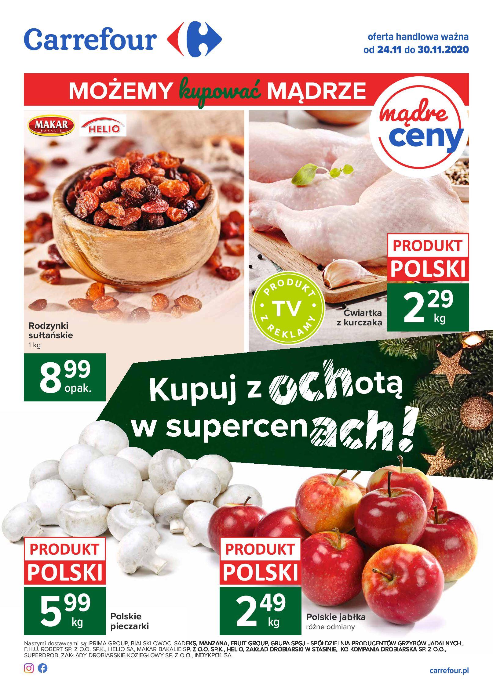 Carrefour:  Oferta handlowa 23.11.2020