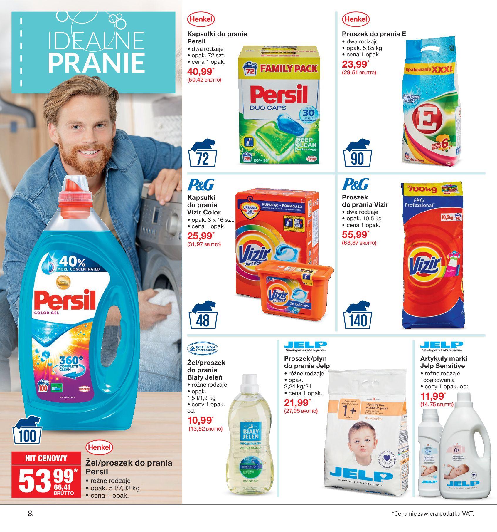 Gazetka Makro - Idealne pranie-12.08.2019-26.08.2019-page-2