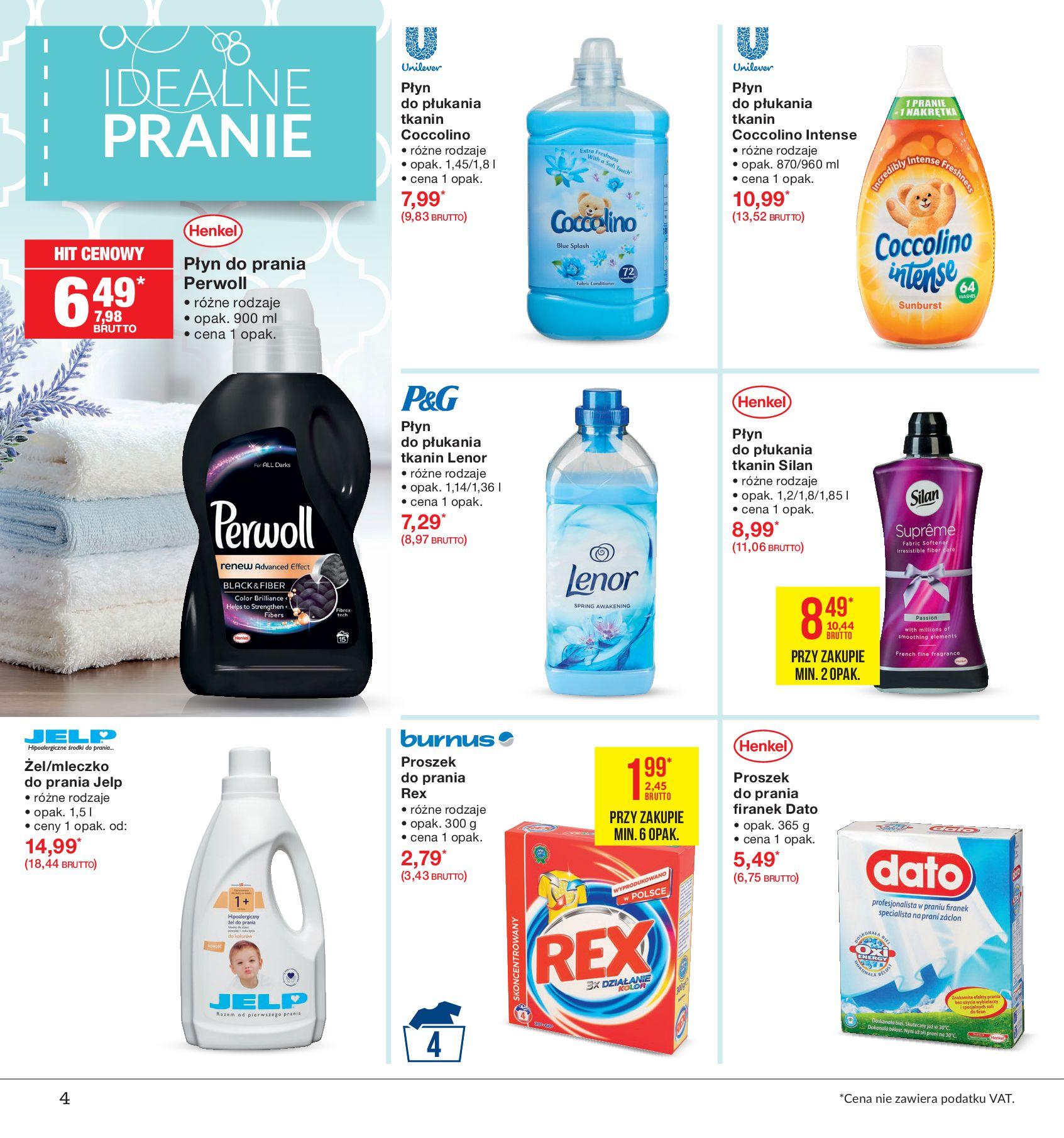 Gazetka Makro - Idealne pranie-12.08.2019-26.08.2019-page-4