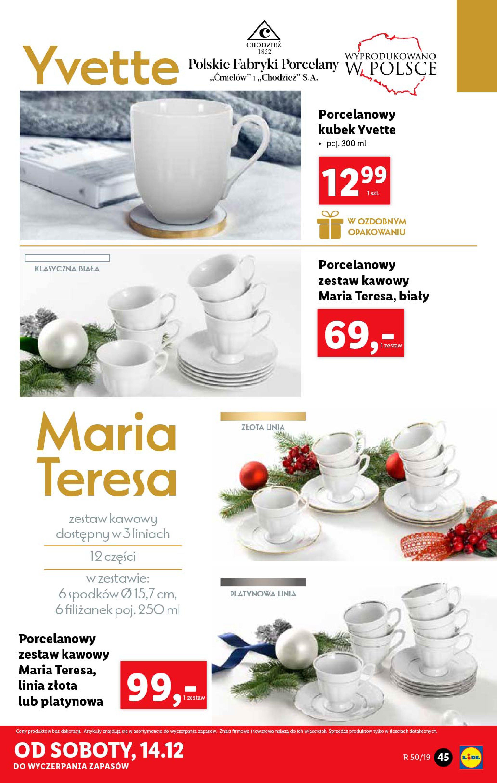 Gazetka Lidl - Katalog od poniedziałku 09.12-08.12.2019-15.12.2019-page-45