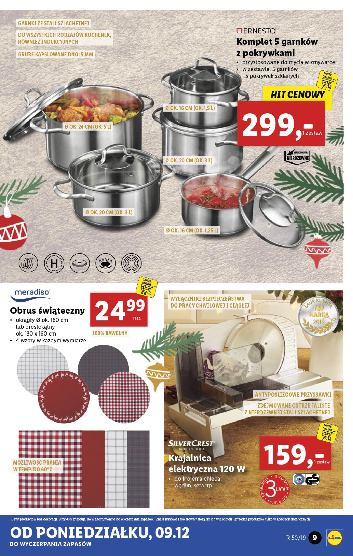Gazetka Lidl - Katalog od poniedziałku 09.12-08.12.2019-15.12.2019-page-9