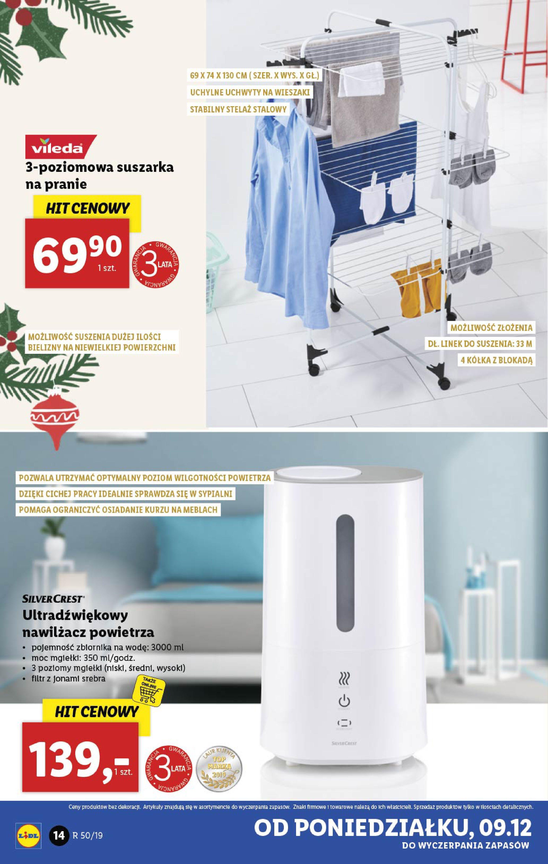Gazetka Lidl - Katalog od poniedziałku 09.12-08.12.2019-15.12.2019-page-14