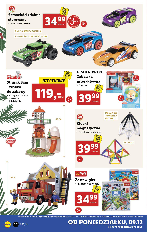Gazetka Lidl - Katalog od poniedziałku 09.12-08.12.2019-15.12.2019-page-16