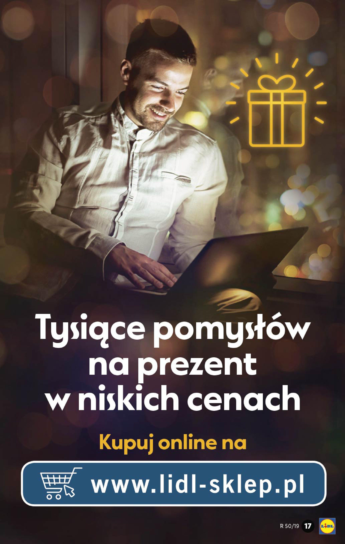 Gazetka Lidl - Katalog od poniedziałku 09.12-08.12.2019-15.12.2019-page-17