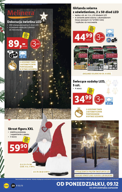 Gazetka Lidl - Katalog od poniedziałku 09.12-08.12.2019-15.12.2019-page-20