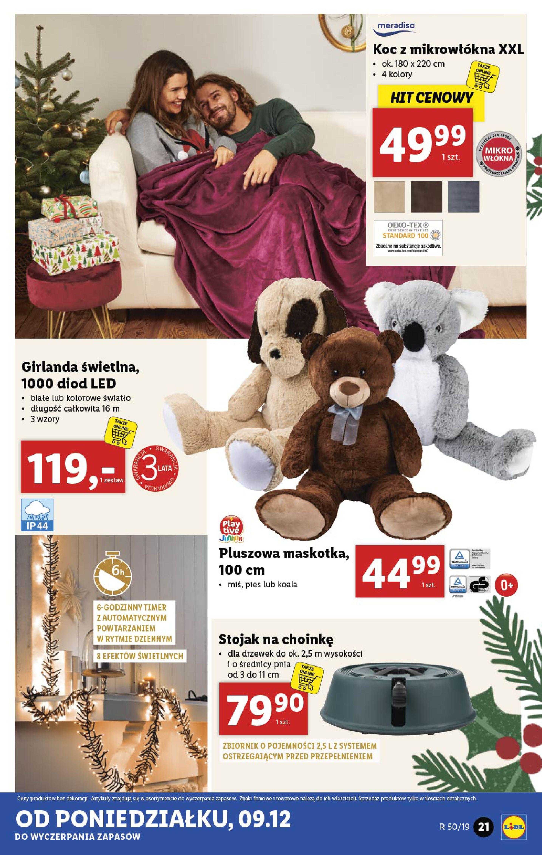 Gazetka Lidl - Katalog od poniedziałku 09.12-08.12.2019-15.12.2019-page-21