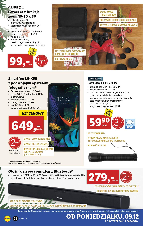 Gazetka Lidl - Katalog od poniedziałku 09.12-08.12.2019-15.12.2019-page-22