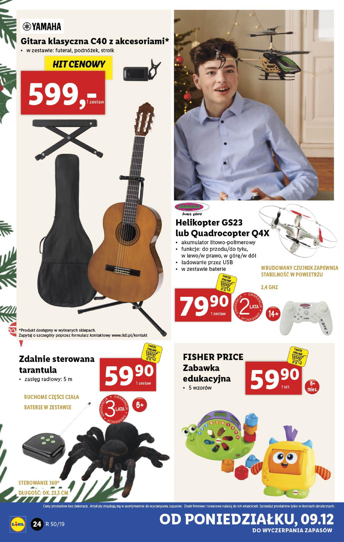 Gazetka Lidl - Katalog od poniedziałku 09.12-08.12.2019-15.12.2019-page-24