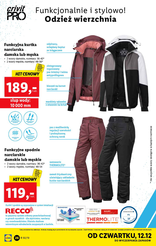 Gazetka Lidl - Katalog od poniedziałku 09.12-08.12.2019-15.12.2019-page-26