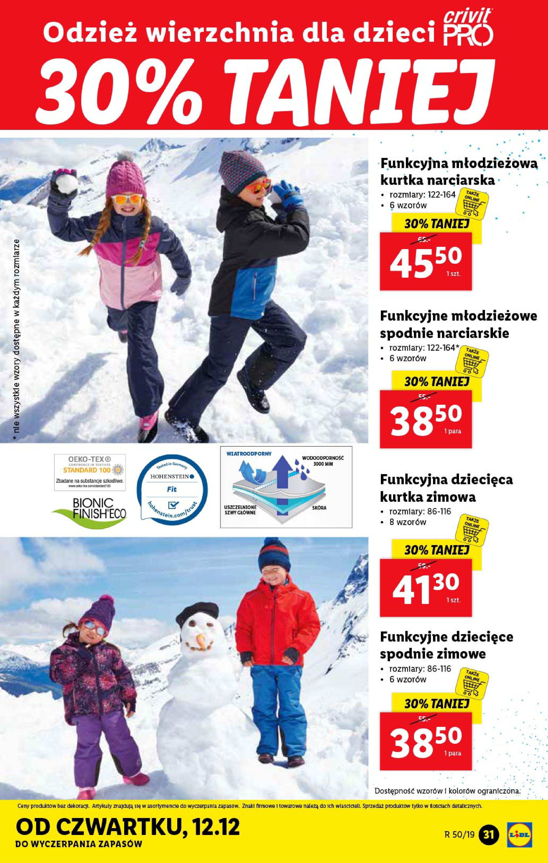 Gazetka Lidl - Katalog od poniedziałku 09.12-08.12.2019-15.12.2019-page-31