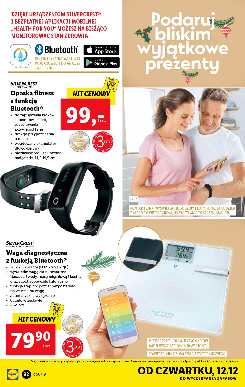 Gazetka Lidl - Katalog od poniedziałku 09.12-08.12.2019-15.12.2019-page-32