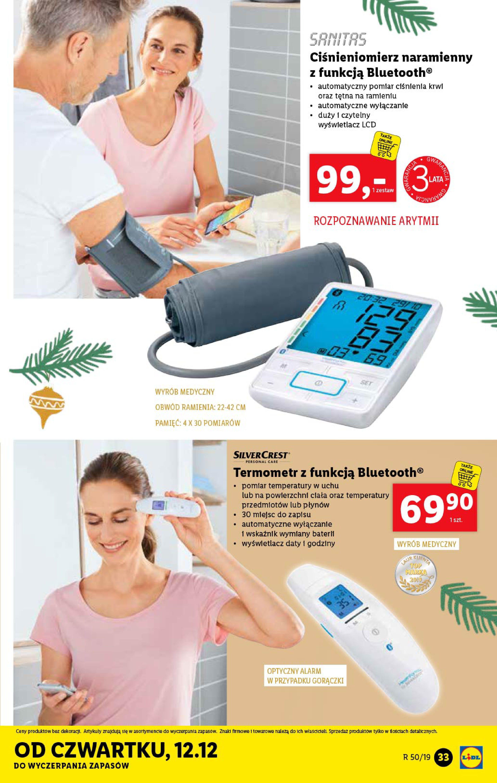 Gazetka Lidl - Katalog od poniedziałku 09.12-08.12.2019-15.12.2019-page-33