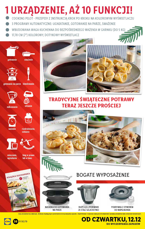 Gazetka Lidl - Katalog od poniedziałku 09.12-08.12.2019-15.12.2019-page-36