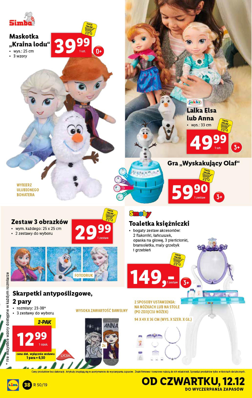 Gazetka Lidl - Katalog od poniedziałku 09.12-08.12.2019-15.12.2019-page-38