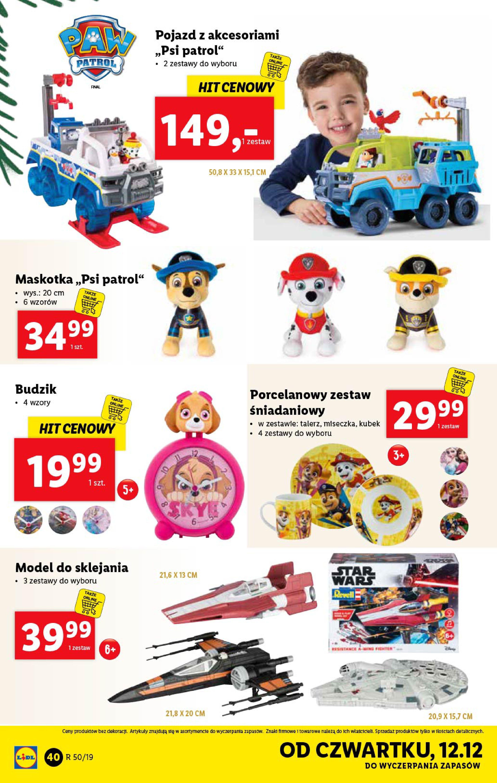 Gazetka Lidl - Katalog od poniedziałku 09.12-08.12.2019-15.12.2019-page-40
