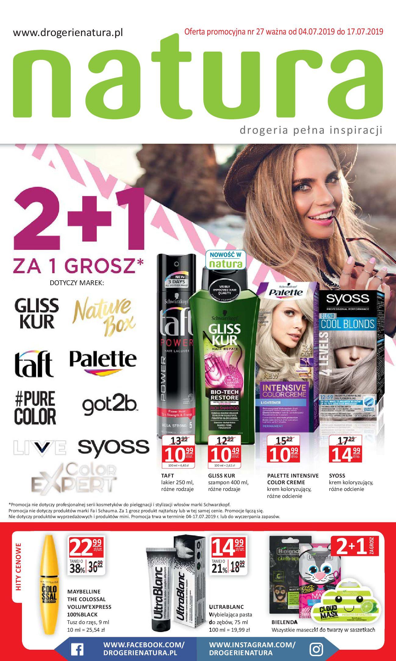 Gazetka Drogerie Natura - Oferta promocyjna-03.07.2019-17.07.2019-page-
