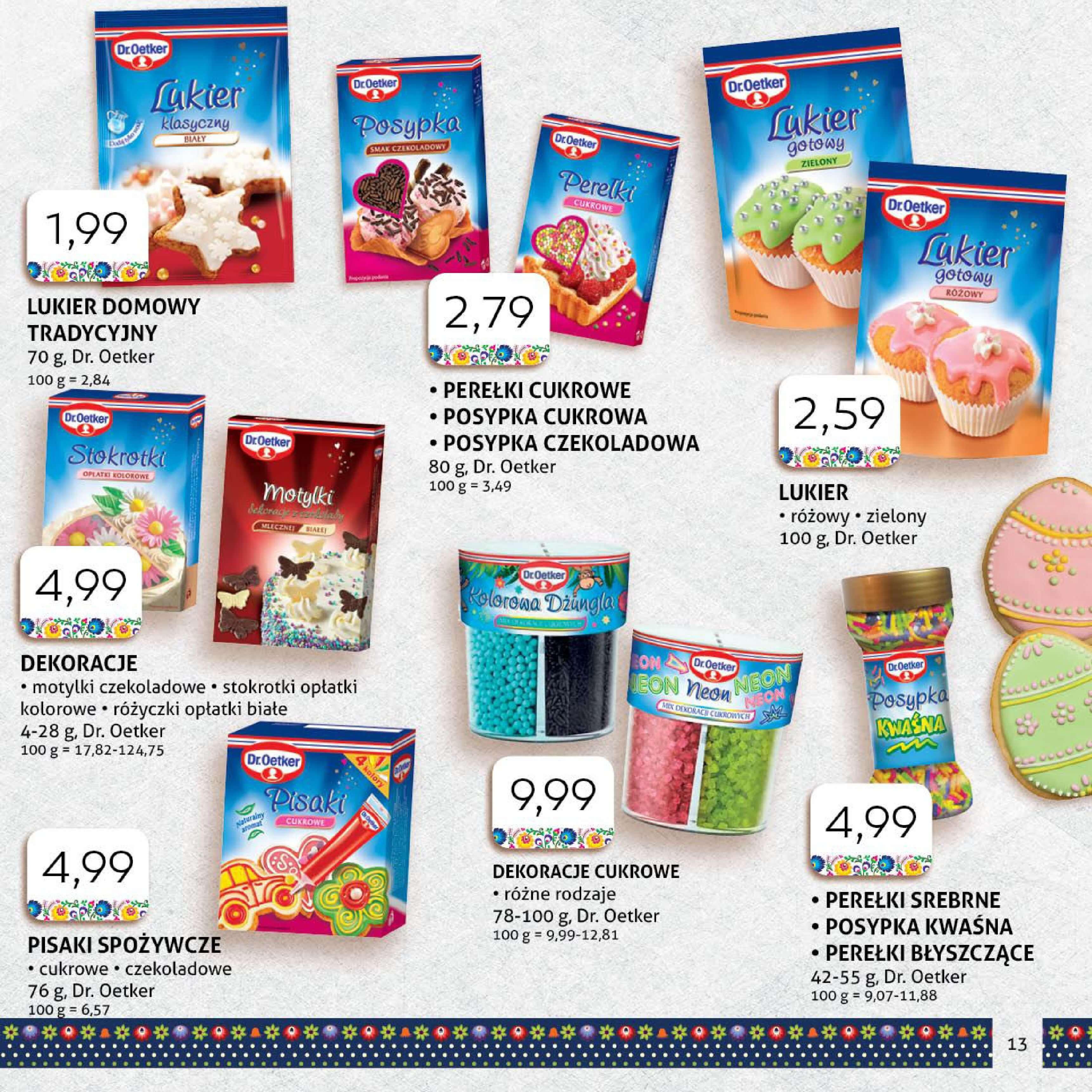Gazetka Polomarket - Nasza Wielkanoc-11.03.2018-31.03.2018-page-