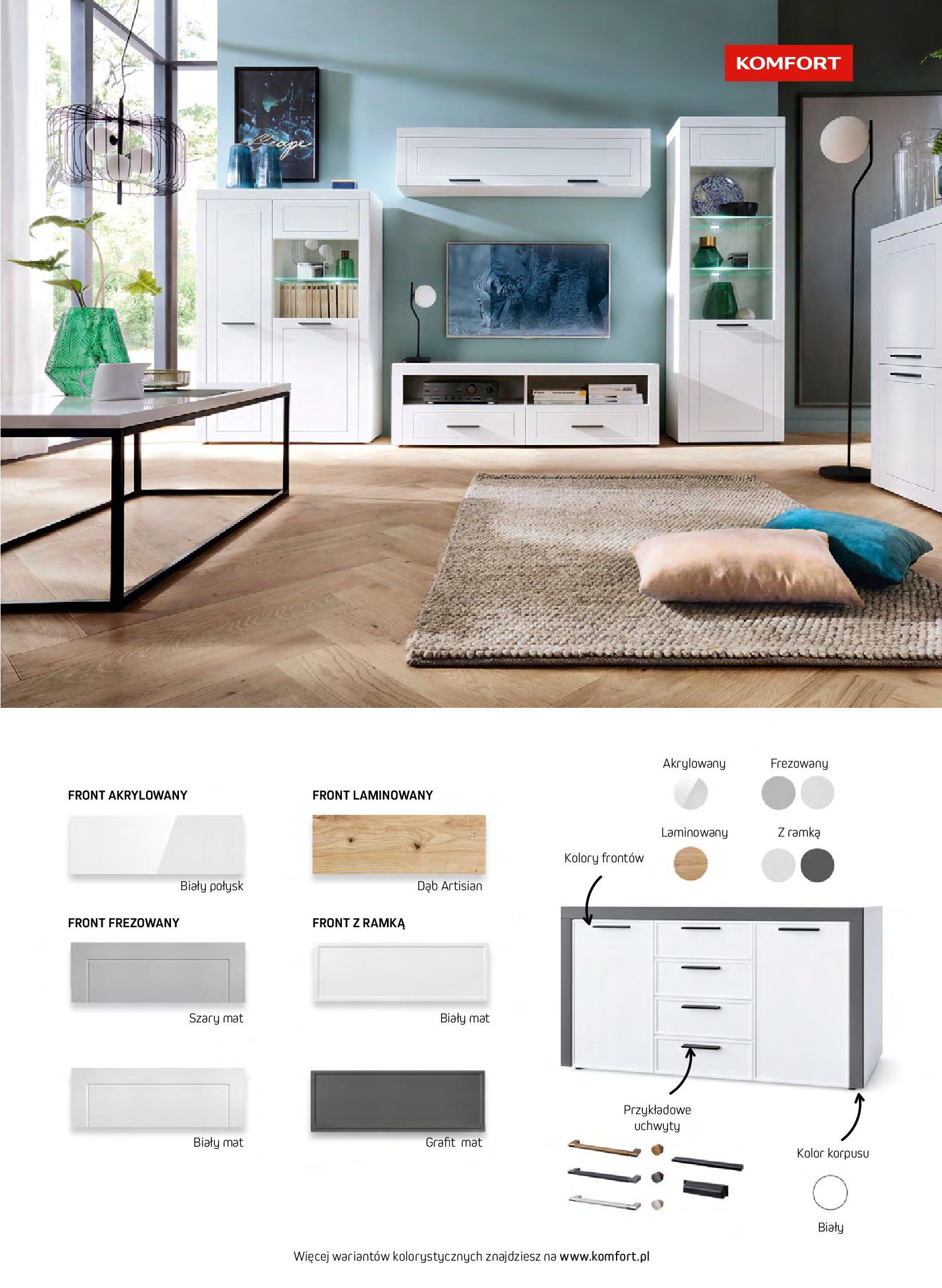 Gazetka Komfort: Gazetka komfort - Meble i oświetlenie 2021-08-26 page-5