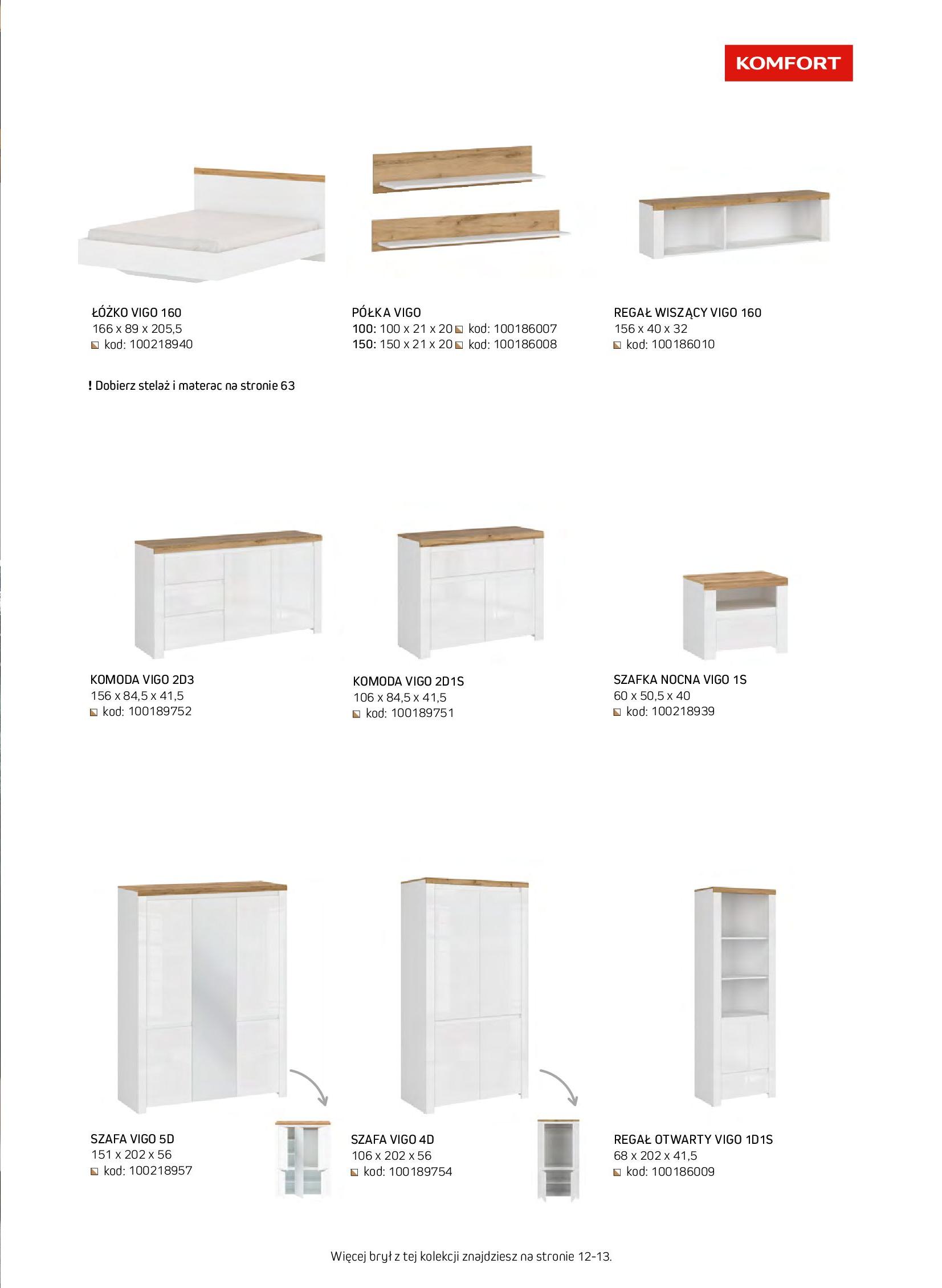 Gazetka Komfort: Gazetka komfort - Meble i oświetlenie 2021-08-26 page-45