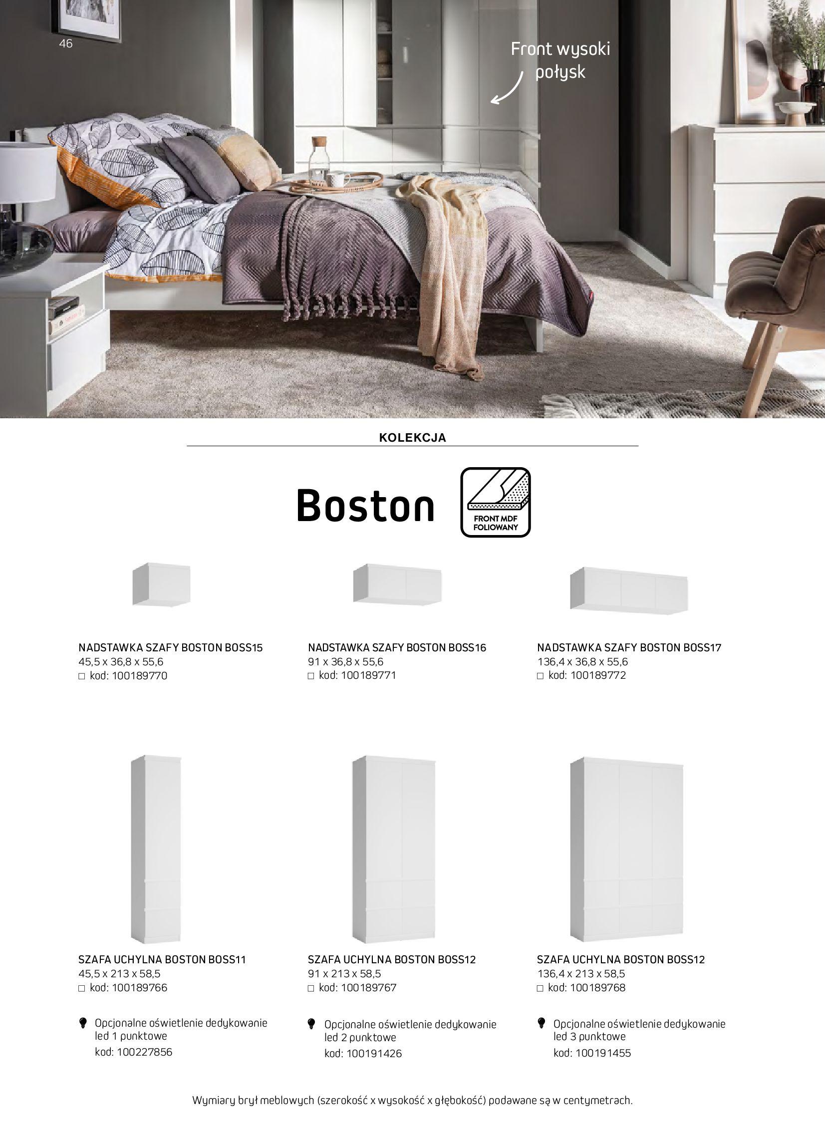 Gazetka Komfort: Gazetka komfort - Meble i oświetlenie 2021-08-26 page-46