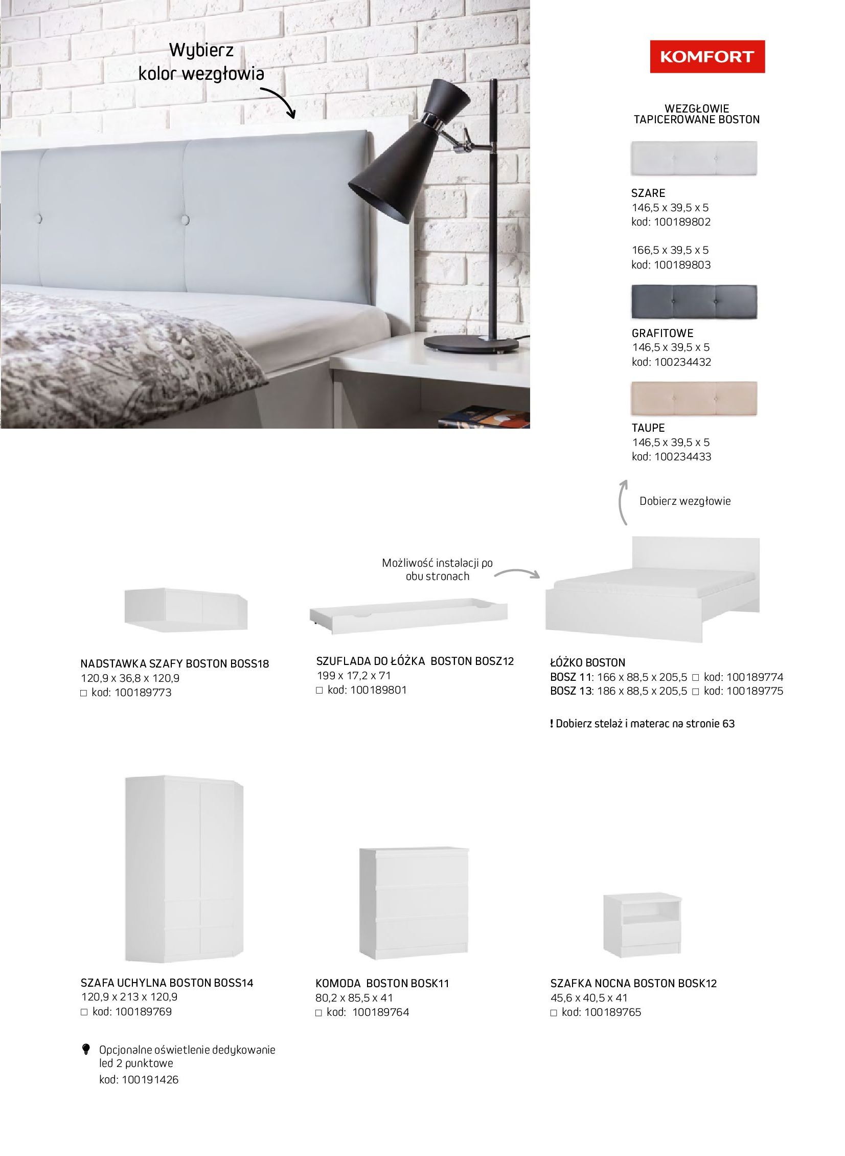 Gazetka Komfort: Gazetka komfort - Meble i oświetlenie 2021-08-26 page-47