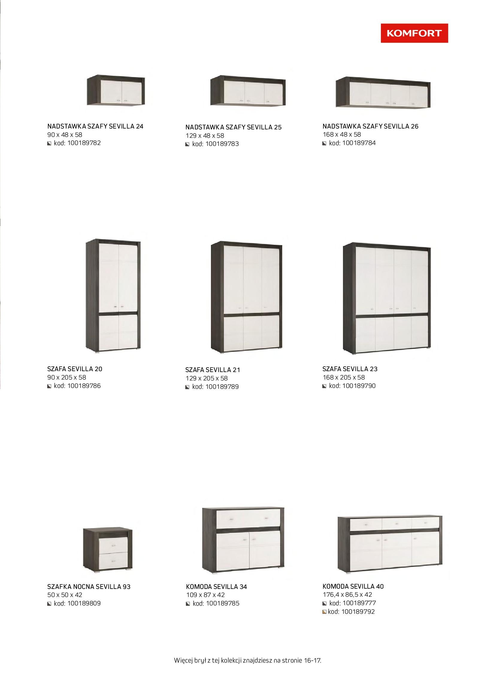 Gazetka Komfort: Gazetka komfort - Meble i oświetlenie 2021-08-26 page-49