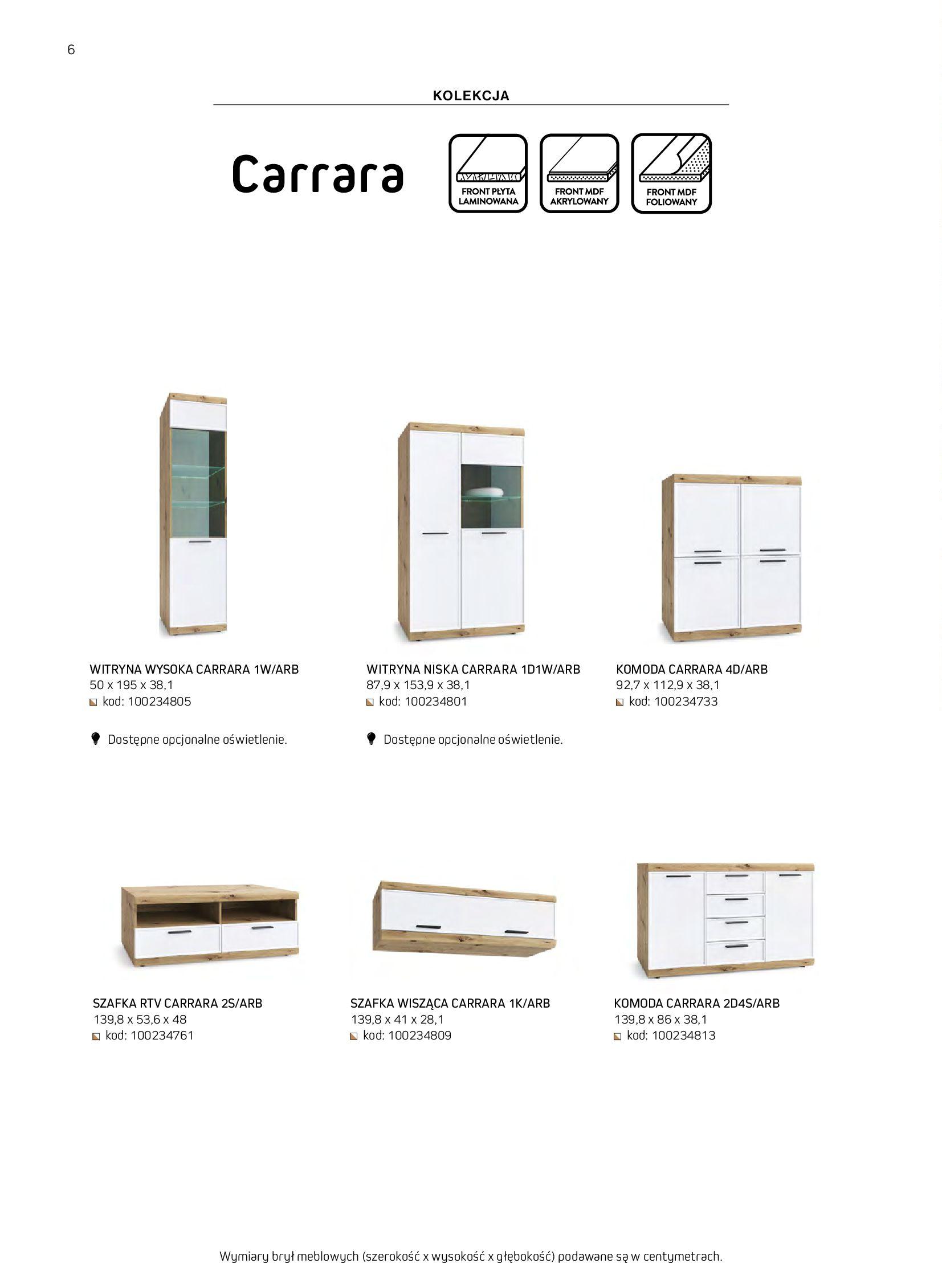Gazetka Komfort: Gazetka komfort - Meble i oświetlenie 2021-08-26 page-6