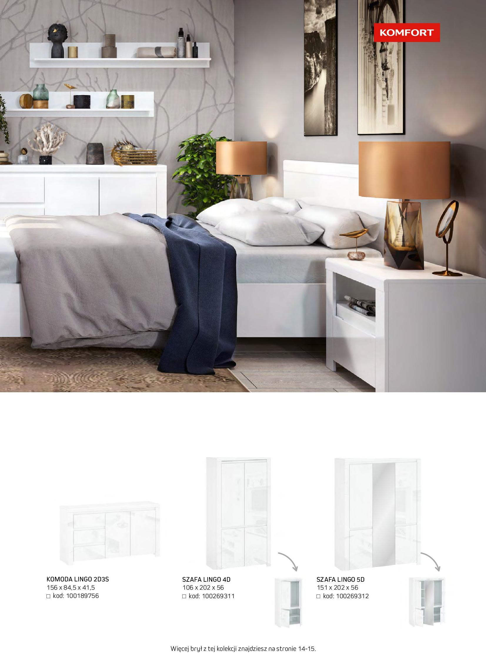 Gazetka Komfort: Gazetka komfort - Meble i oświetlenie 2021-08-26 page-53