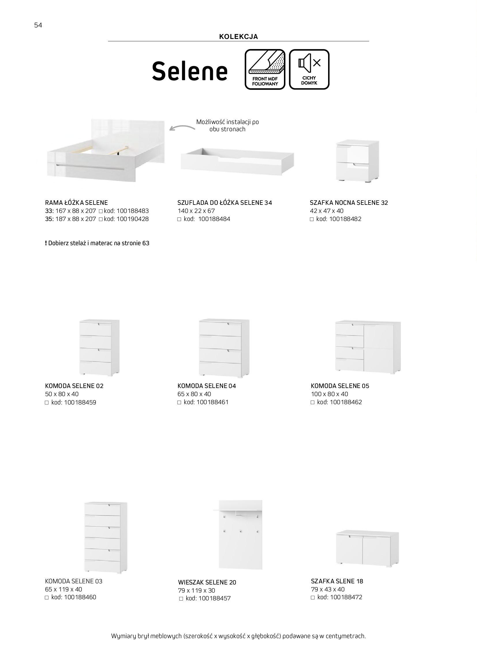 Gazetka Komfort: Gazetka komfort - Meble i oświetlenie 2021-08-26 page-54